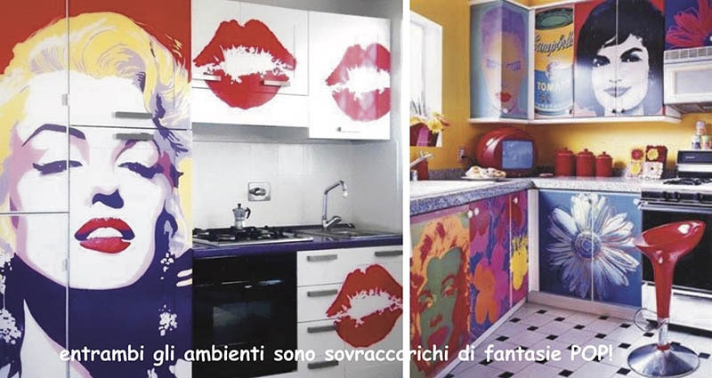 pop art cucina