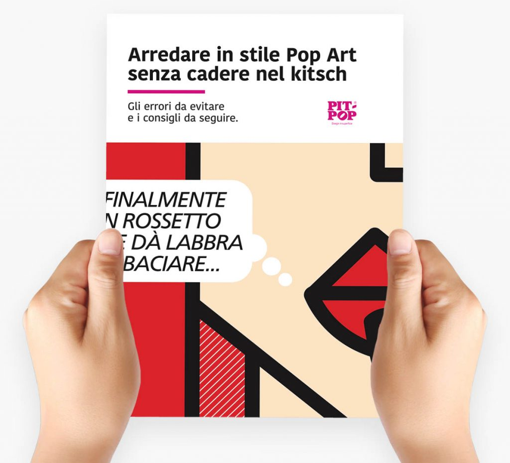 arredare in stile pop art