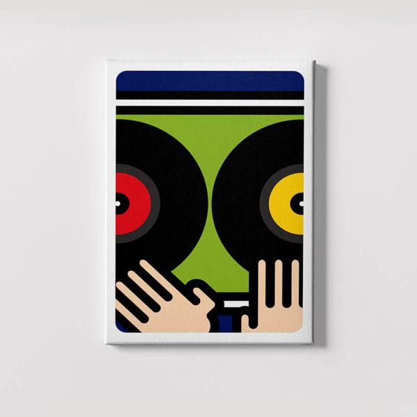 mani su dischi